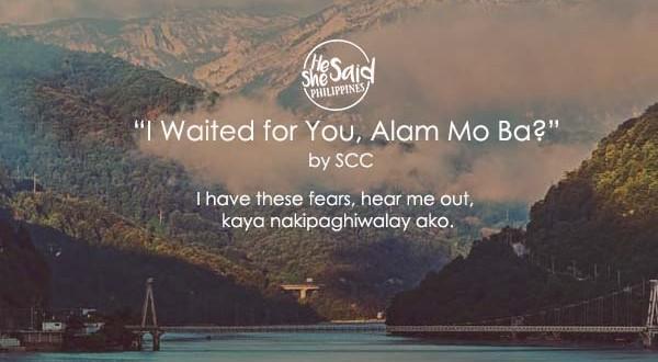 I Waited for You Alam Mo Ba