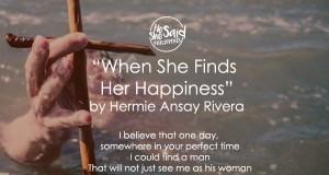 she happy
