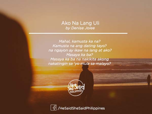 Poetry dating tayo
