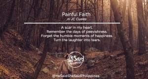 painful faith