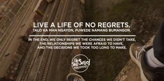 Live a Life of No Regrets
